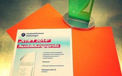 """Ausbildungspreis """"Stift 2014"""""""