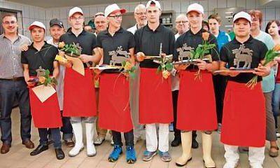 1. Platz bei der Thüringer Fleischerjugend