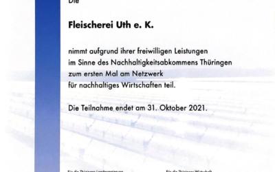 Nachhaltigkeitsabkommen Thüringen
