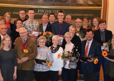 Auf dem Bild sind alle die für das Ehrenamt ausgezeichnet wurden.